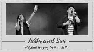Gambar cover Taste and See (Bagiku Kaulah Segalanya)