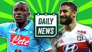 TRANSFER NEWS: Koulibaly to Chelsea, Fekir to Arsenal + Salah & De Gea awards ► Daily Football News