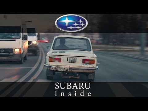 ZAZ with Subaru engine. First ride to the city