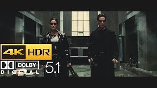 The Matrix - Lobby Shootout (HDR - 4K - 5.1)