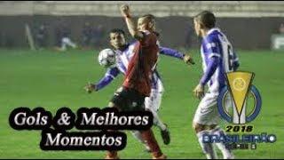 CSA x Brasil de Pelotas - Gols & Melhores Momentos Brasileirão Serie B 2018 33ª Rodada