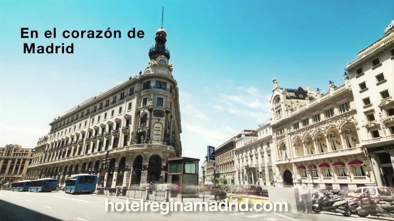 Hotel Regina Madrid Youtube