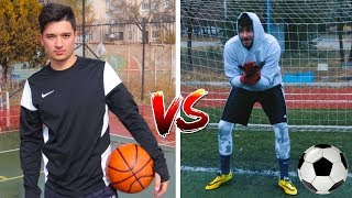 FUTBOL VS BASKETBOL (Efsane Challenge)