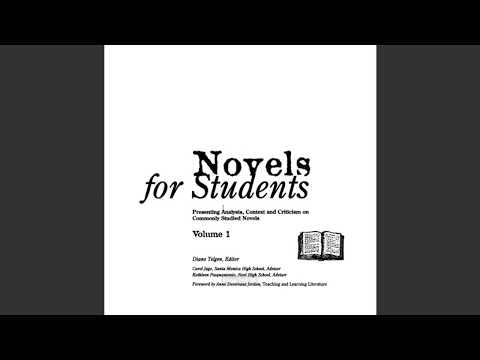 MLA 8 Citing Novels for Students, Short Stories for Students, Poetry for Students, etc.