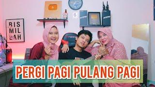Download lagu PERGI PAGI PULANG PAGI l ARMADA  Cover Deny Reny with Mamah l Ukulele