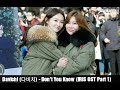 Indo Sub Davichi - Don't You Know Iris 2 Ost Part1 Lyrics