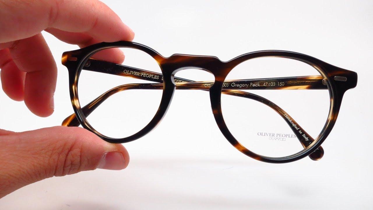 Peck Oliver Unboxing Eyeglasses Peoples 5186 Ov Gregory Reviewamp; HWID9E2Y