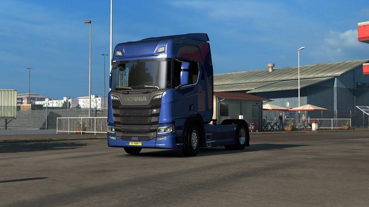 Euro Truck Simulator 2 WiP Scania S & R series stock V8 sound mod by  Kapitan Kriechbaum