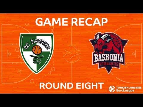 Highlights: Zalgiris Kaunas - Baskonia Vitoria Gasteiz