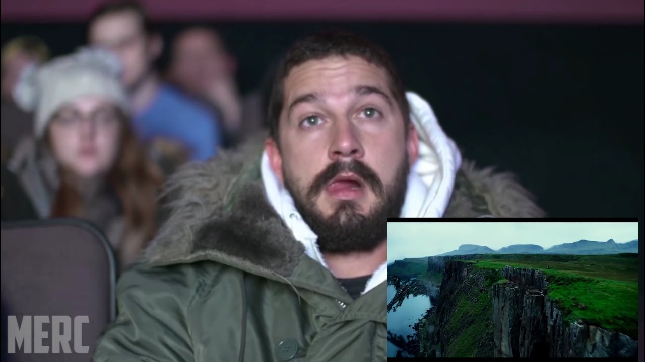 SHIA LABEOUF REACTION TO TRANSFORMERS:THE LAST KNIGHT [FAN ...