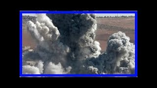 Imágenes satelitales antes y después ataque en Siria - Noticias