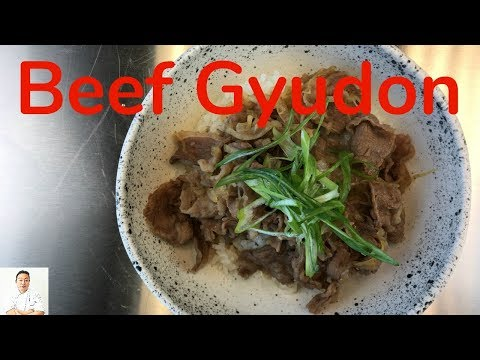 Beef Gyudon | Easy Traditional Japanese Recipe