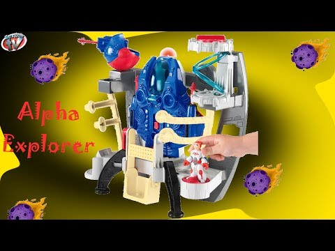 imaginext-alpha-explorer-playset-toy-review,-fisher-price