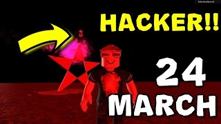 LIVE: HACKER ATTACK HAPPENING-PLAYING LIVE ROBLOX DAY 24 MARCH!!