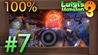 Luigi's Mansion 3: 100% Walkthrough Part 7 - Castle MacFrights (6F)