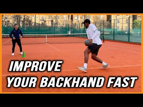 Tennis Backhand Drills | 6 Must Try Drills | Improve Your Backhand Fast (NO MORE WEAK BACKHAND!!!)
