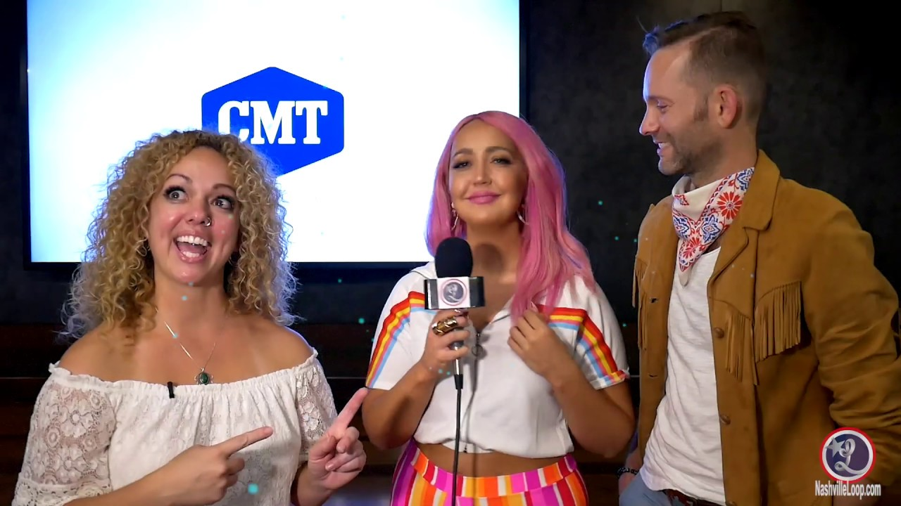 CMA Fest Katie Chats With Meg & Tyler