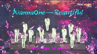 Wanna One (워너원) - 'Beautiful (뷰티풀)'교차편집(stage mix)
