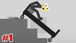 ЛОМАЙ МЕНЯ ПОЛНОСТЬЮ! Stickman Dismounting Игры на Андроид 1 серия