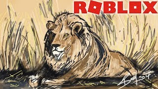 ROBLOX WILD SAVANNAH COMIC!!?? Need Your Help Guys :)! VOTE! -( Roleplay Survival Realism Gameplay )