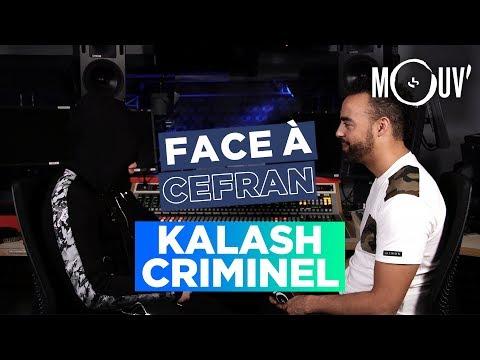 Youtube: KALASH CRIMINEL:«Rester en bas de la cité, j'ai plus le temps frérot»