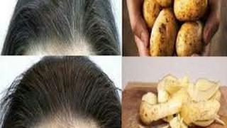 علاج شيب الشعر نهائيا والابد في اقل من نصف ساعة فقط بدون اي صباغة وبمكونات طبيعية مضمونة وفعالة