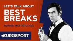 Let's Talk About the Best Breaks | Ronnie O'Sullivan MasterClass | Snooker | Eurosport