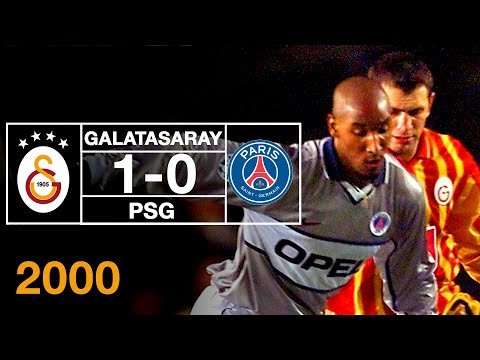 Nostalji Maçlar | 2000-2001 Sezonu Galatasaray 1 - 0 Paris Saint-Germain