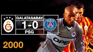 Nostalji Maçlar | 2000-2001 Sezonu Galatasaray 1 - 0 Paris Saint-Germain
