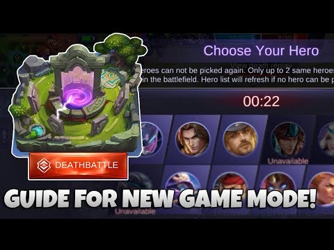 Guide for New DEATHBATTLE Game mode! | Mobile Legends Bang Bang | MLBB