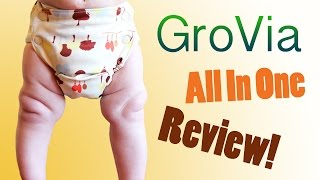 GroVia All In One - Cloth Diaper Review