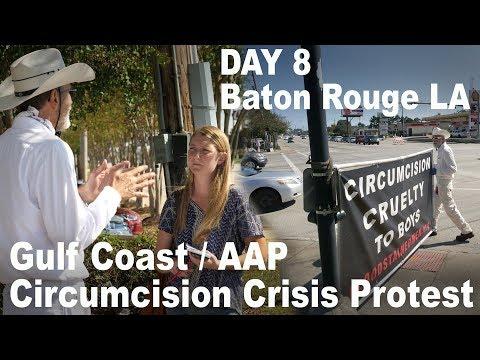 Baton Rouge LA - Day 8 Circumcision Crisis Protest