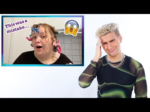 Hairdresser Reacts To