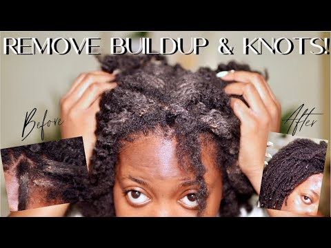 remove-dirt,-buildup,-&-knots-safely-after-a-protective-style!