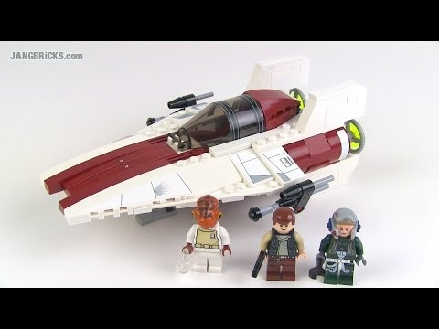LEGO Star Wars 75003 A-Wing Starfighter (2013) set review!