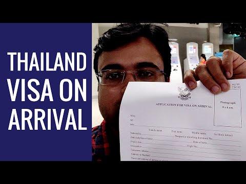 Visa On Arrival Thailand | Suvarnabhumi Airport To Pattaya Bus | Bangkok | Hindi