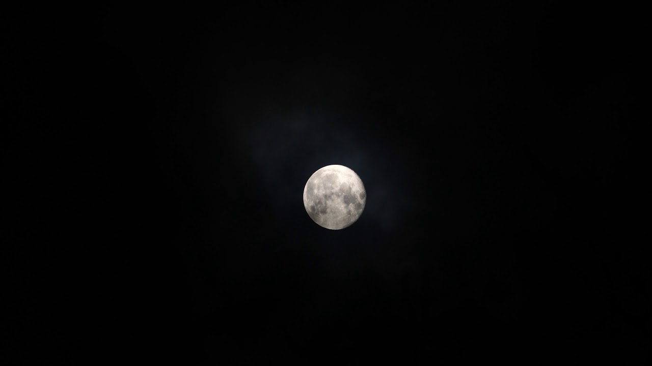 4k Moon Relaxing Screensaver Or Wallpaper Android Pc Youtube