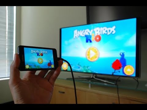 Connect your phone to Tv (just with USB Cable method) ENGLISH VERSION