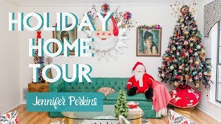Vintage Toys in Their Original Box? Jennifer Perkins Holiday Home Tour