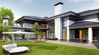 Проект дома с гаражом и террасой(http://www.topdom.info/portfolio/rl146.php – обзор проекта на сайте архитектурного бюро ТопДом. ➨ Проект дома с террасой..., 2016-03-11T13:02:10.000Z)