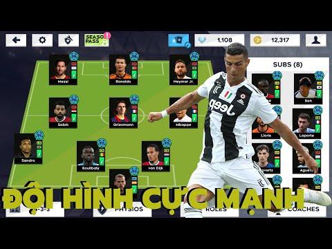 Xây Dựng Đội Hình Cực Mạnh Dream League Soccer 2021