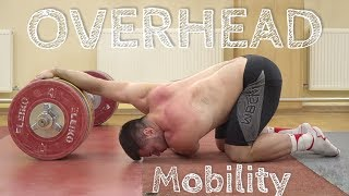 TOP 4: Overhead Mobility for Power JERK & Snatch / Weightlifting by Torokhtiy