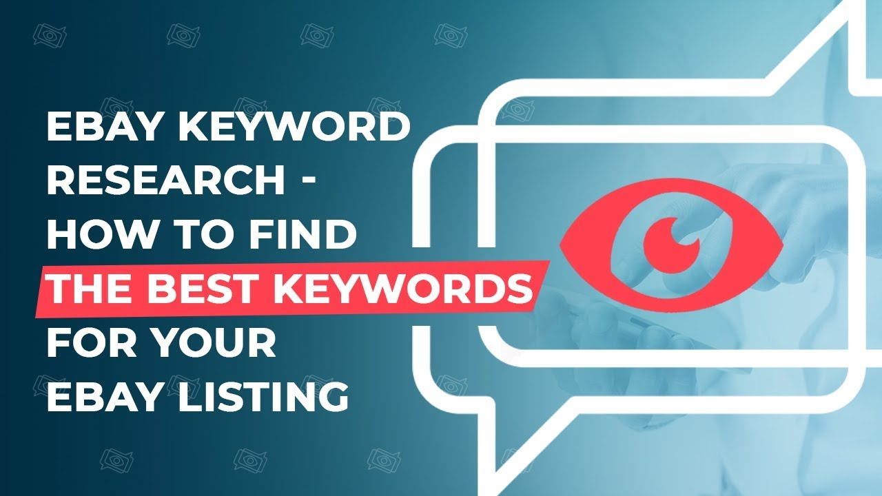 22686fd6bb67 eBay Keyword Research - How To Find The Best Keywords For Your eBay listing  - YouTube