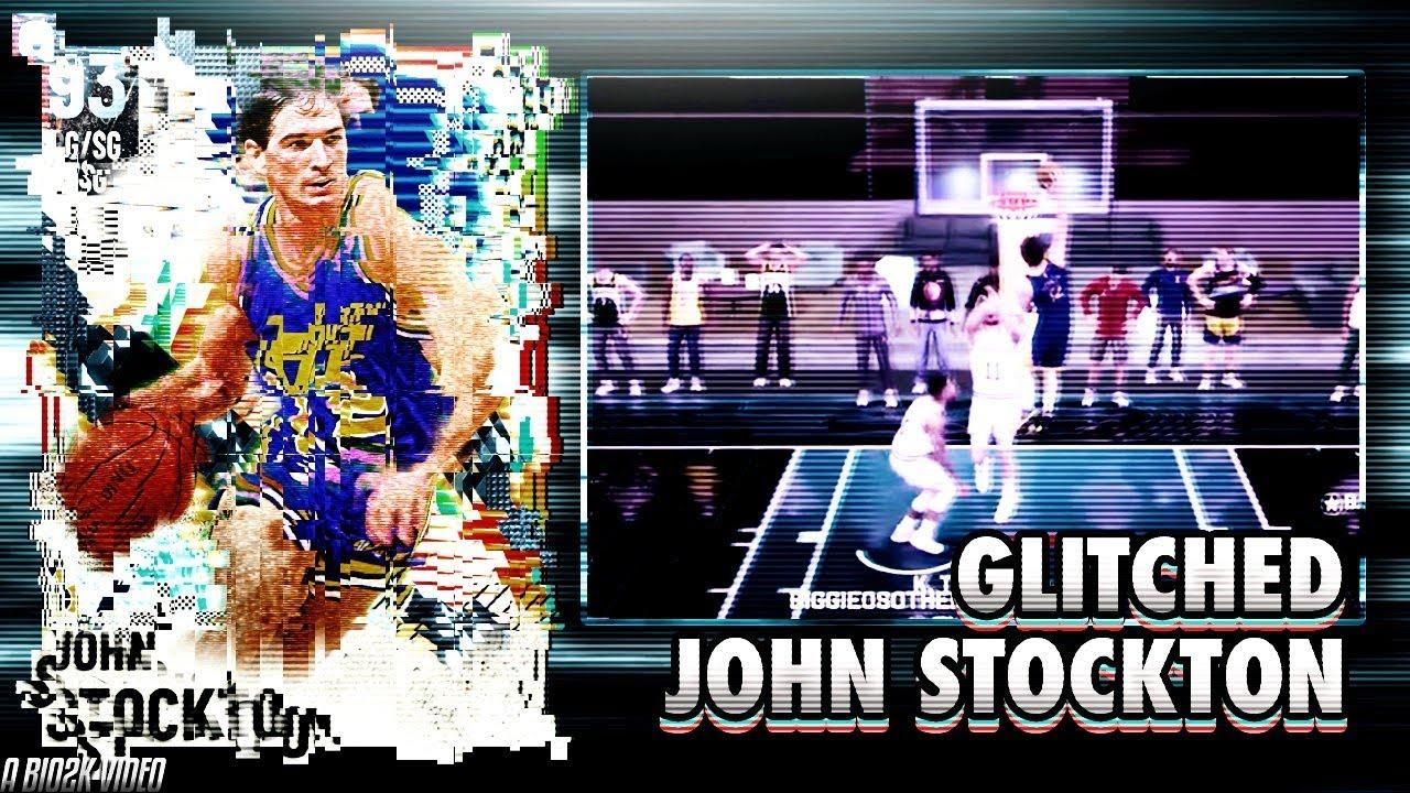 2K *GLITCHED* THIS DIAMOND JOHN STOCKTON TO DUNK LIKE PRIME VINCE CARTER! NBA 2K21 MYTEAM