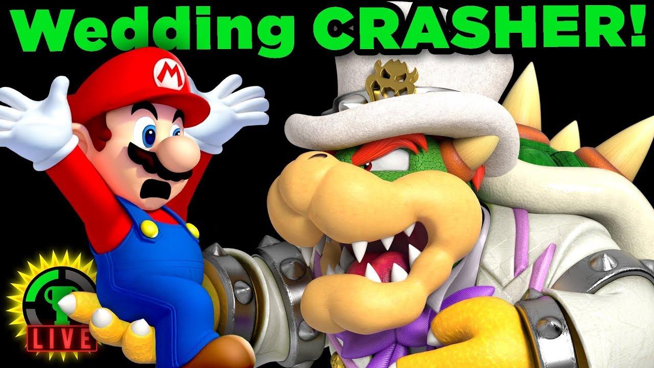 Gtlive Mario Crashes Bowser S Wedding Super Mario