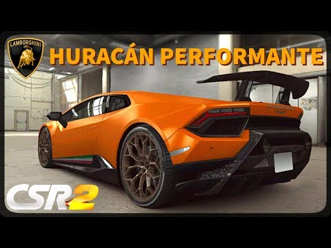 CSR Racing 2 - Huracán Performante delivery and live races - Milestone prize
