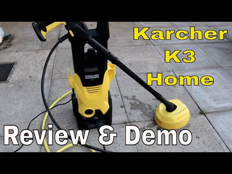 Kärcher K3 Home Pressure Washer Review & Demonstration