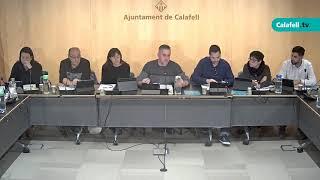 Ajuntament de Calafell: Sessió plenària ordinària, 13 de febrer de 2020