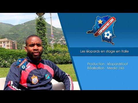 Stage des léopards en Italie - Match amical Roumanie vs RD Congo : 1-1