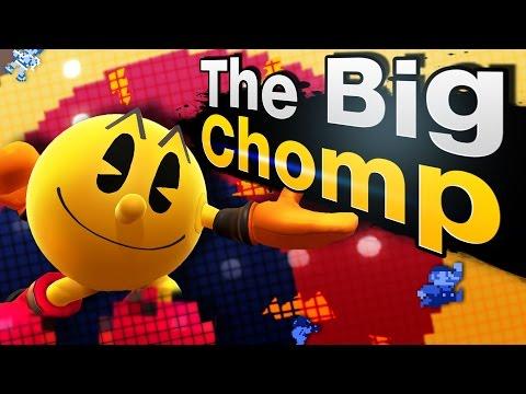 Pac-Man Combo Video - The Big Chomp | By JoeCreak - Smash 4 Wii U